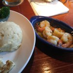 Red Lobster have the best shrimp scampi.  Got excellent service from Barbara P...Fish 🐟 was fre