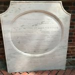 Seven signers of the Declaration of Independence are buried in the Christ Church cemetery (nearb