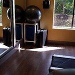Some extra gym equipment