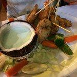 Coconut Shrimp w/mint sauce......