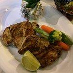 Grilled chicken...............