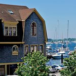 Situated directly on Newport Harbor