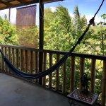 Hammock on the veranda to relax