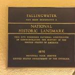 National Historic Landmark plaque