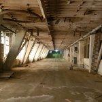 Interior of former blimp hangar