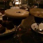 An expresso martini