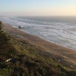 Blufftop view of Irish Beach