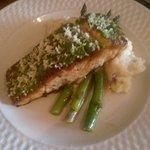 Horseradish Crusted Salmon