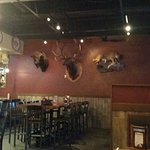 Inside of the Timberwood Grill. The Island Pigeon Forge Tennessee