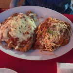 Chicken parmigiana... amazing!