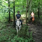 Really green trail ride!
