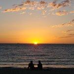 西澳的夕陽