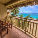 Your View from a Beachfront Suite Balcony