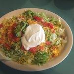 Chicken Taco Salad - very low carbs!