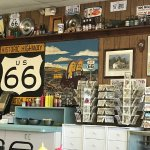 Route 66 memorabilia
