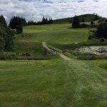 beautiful and challenging Strathpeffer golf club