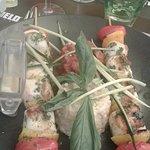 Brochettes de séches à la provençale