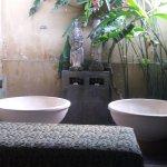 Massage room peaceful