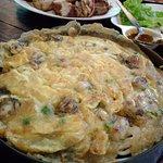 Amazing Oyester Omelet at Sabaijai Restaurant