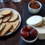 Cheeseboard at The Olive Tree