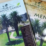 socratous garden -  menu