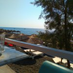 Santorini Reflexions Sea Εικόνα