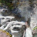 Vertical canyon walls