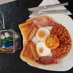 Purfecto way to start your day with a full English breakfast
