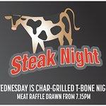 Char- Grilled T-Bone Steak Night