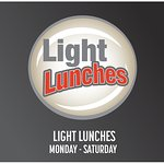 Light Lunches available 6 days a week