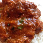 Kashmiri goat Rogan Josh - spicy hot