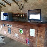 Bar at the communal dining area