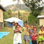 The local children of Abaca