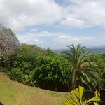 Looking out to the glasshouse mountains