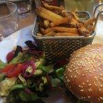 Burger au camembert