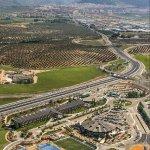 Vista desde el cielo Hotel HO Ciudad de Jaén