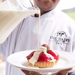 Freshly made desserts using fresh and local produce.