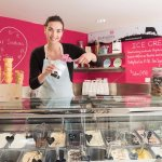 Black Isle Dairy ice cream shop situated inside the Dairy at Daviot.