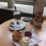 Cream teas to die for :)   And Gluten free options available
