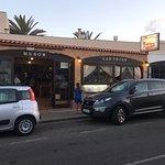 Favourite restaurant Meson Las Tejas only 100 yards form Fuentepark