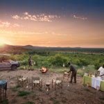 Bush dinner at Morukuru Family in Madikwe Game Reserve
