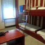 Dormitorio da 4 letti (due letti a castello)