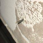 Nail in chair in room that cut leg 😳
