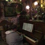 Los Dorados de Villa!! Mi esposo tocando el piano!!