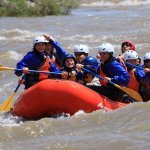 June 2017 Family of 4 whitewater rafting