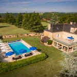 Les Charmes de Carlucet and heated pool