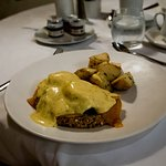 a different kind of Eggs Benedict that is custom built to order, or traditional if you like.