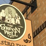 Green Well sign
