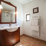 private en-suite bathroom for 3 bed room  villa with private pool