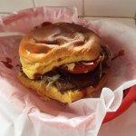 Yee-haw! Cowboy burger